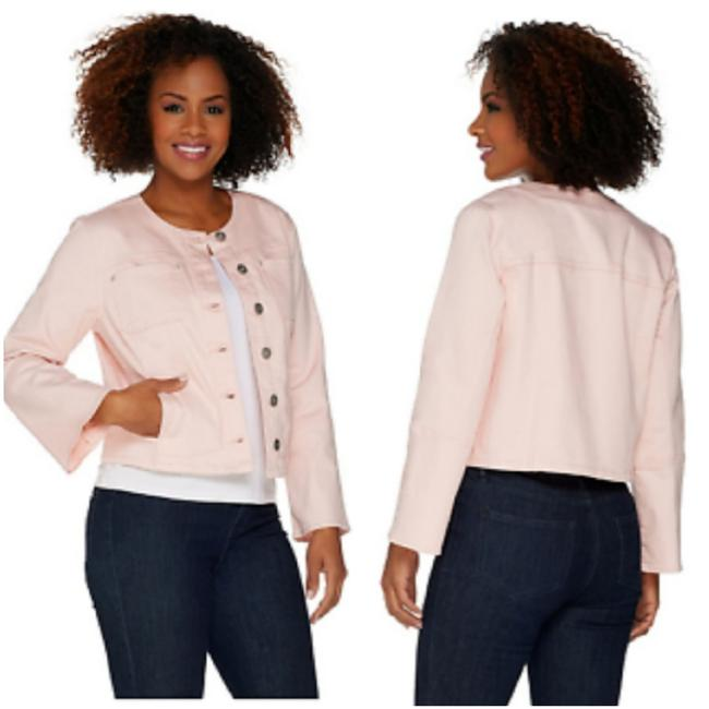 Preload https://item1.tradesy.com/images/baby-pink-jacket-size-2-xs-25795465-0-0.jpg?width=400&height=650