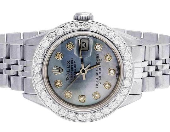 Rolex Datejust 26MM Jubilee Blue MOP Dial Diamond 2.5 Ct Image 1
