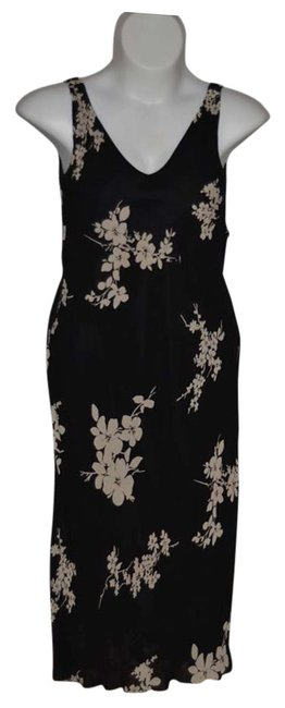 Jones New York Size 10 Cocktail Or Evening Out Summer Fully Lined Great Detail Bottom Of This 'flows 100% Rayon Dress