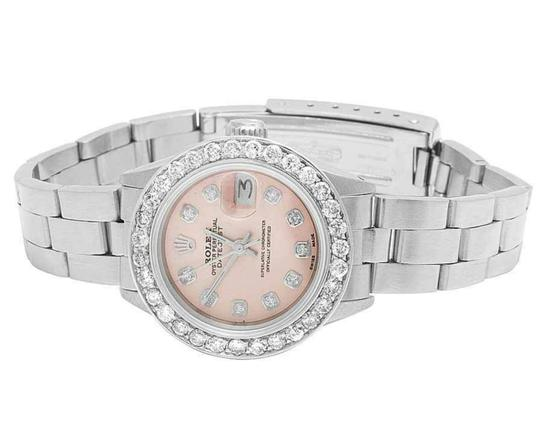 Rolex Datejust 26MM Oyster Pink Dial Diamond 2.5 Ct Image 3