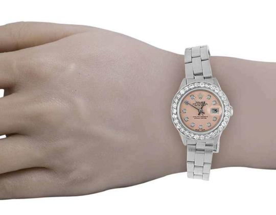 Rolex Datejust 26MM Oyster Pink Dial Diamond 2.5 Ct Image 6