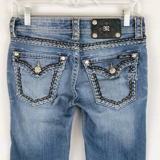 Miss Me Cuffed Skinny Jeans-Light Wash Image 6
