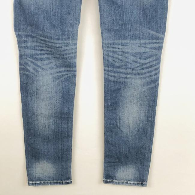 Miss Me Cuffed Skinny Jeans-Light Wash Image 7