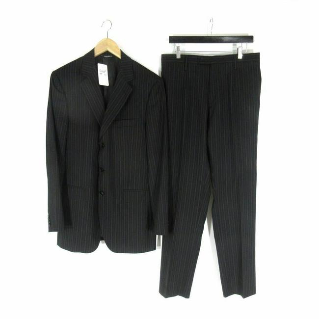 Preload https://img-static.tradesy.com/item/25795543/dolce-and-gabbana-black-w-gray-pin-stripes-52-it-42-us-mens-w-wool-sui-pant-suit-size-28-plus-3x-0-0-650-650.jpg