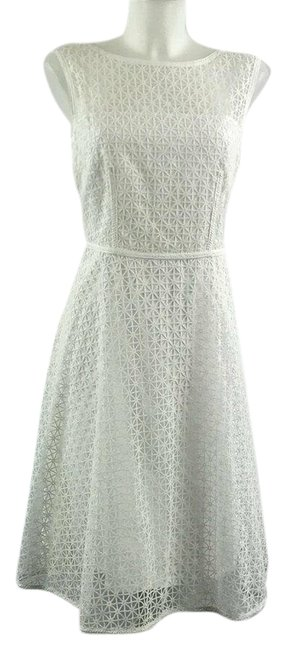 Preload https://img-static.tradesy.com/item/25795548/escada-white-lace-sleeveless-a-line-386-mid-length-night-out-dress-size-6-s-0-1-650-650.jpg