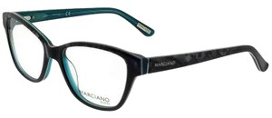 Guess By Marciano GM0280-092-51 Cat Eye Women's Blue Frame Clear Lens Eyeglasses