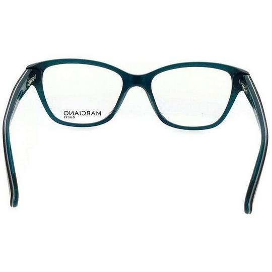 Guess By Marciano GM0280-092-51 Cat Eye Women's Blue Frame Clear Lens Eyeglasses Image 3