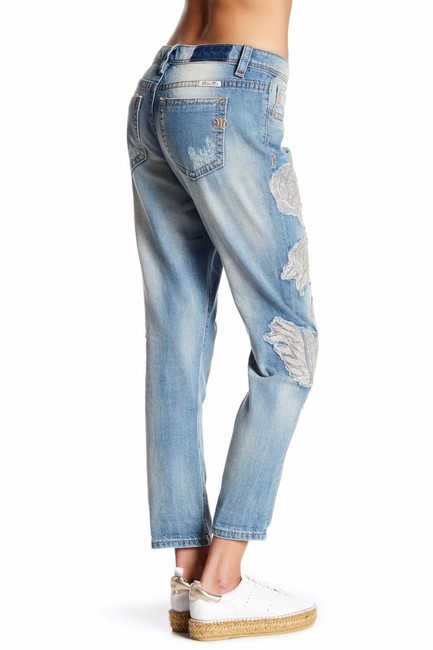 Miss Me Boyfriend Cut Jeans-Light Wash Image 1