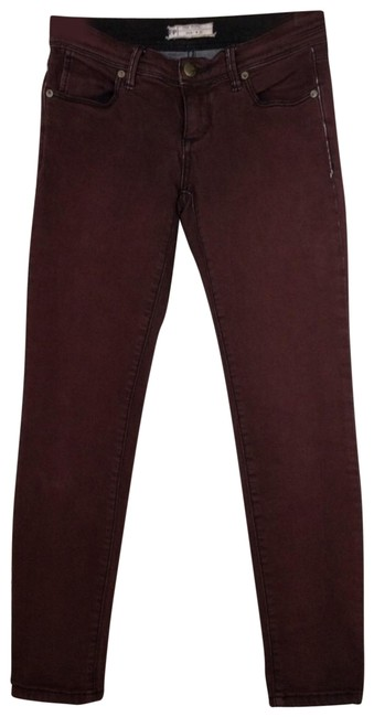 Preload https://img-static.tradesy.com/item/25795612/free-people-burgundy-distressed-factory-faded-color-skinny-jeans-size-25-2-xs-0-1-650-650.jpg