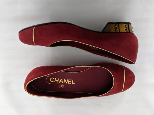 Chanel soft red Flats Image 1