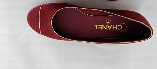 Chanel soft red Flats Image 3