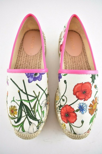 Gucci Princetown Loafer Mule Slide white Flats Image 5