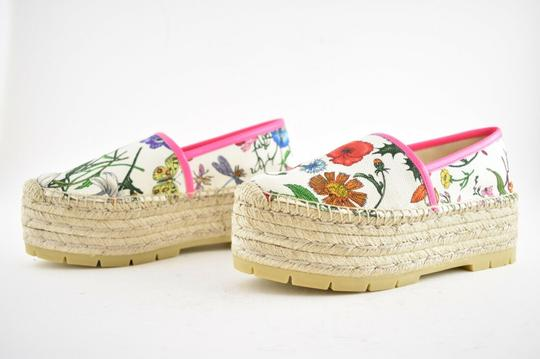 Gucci Princetown Loafer Mule Slide white Flats Image 8