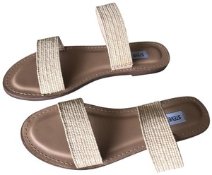 Steve Madden Natural Sandals