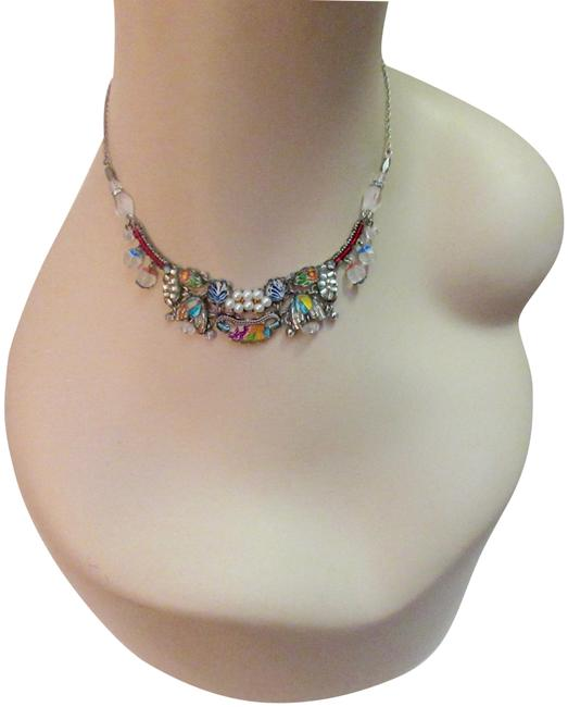 Item - Multicolor Exquisite Crystal Beads Faux Pearl Necklace