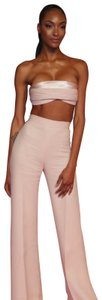 Brandon Maxwell Wide Leg Pants Pink
