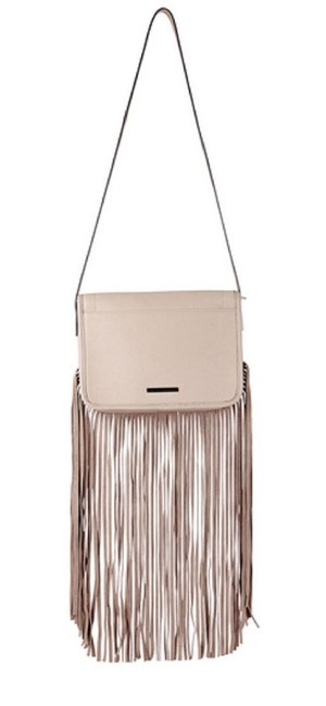 BCBGeneration Lana Long-fringe Medium Pink Blush Suede Leather Shoulder Bag BCBGeneration Lana Long-fringe Medium Pink Blush Suede Leather Shoulder Bag Image 1