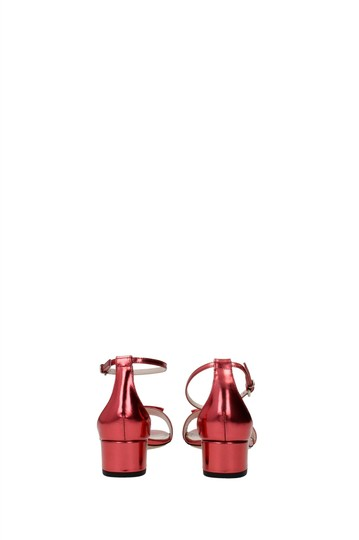 Bally Red Sandals Image 4