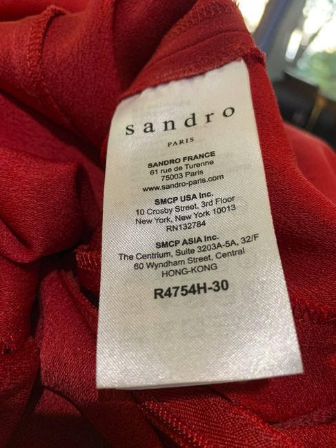 Sandro Loose-fitting Chic Day To Night Dress Image 6