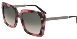 Gucci Authentic Gucci 55mm Oversized Square Acetate/Metal Sunglasses
