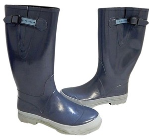 Marc Jacobs Rubber Rain Gray Boots
