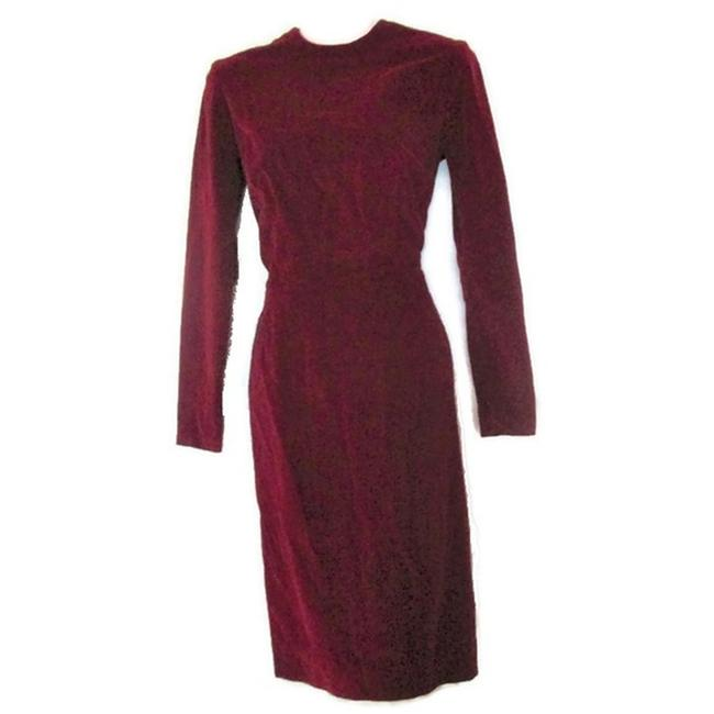 Preload https://img-static.tradesy.com/item/25797395/red-velvet-small-xs-2-mid-length-night-out-dress-size-4-s-0-0-650-650.jpg