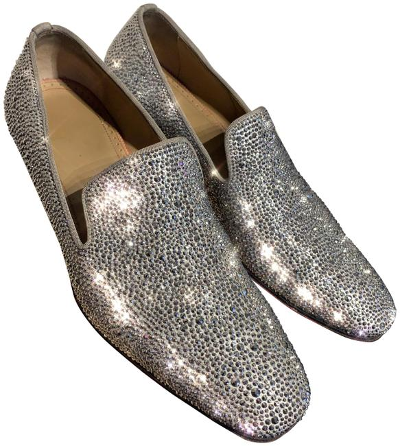 Item - Silver Dandelion Strass Loafers Flats Size US 8.5 Regular (M, B)