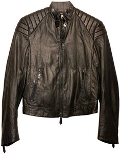 Burberry Prorsum Couture Dior Christian Louboutin Louis Vuitton Leather Jacket