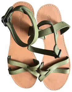 Madewell Olive Green Sandals