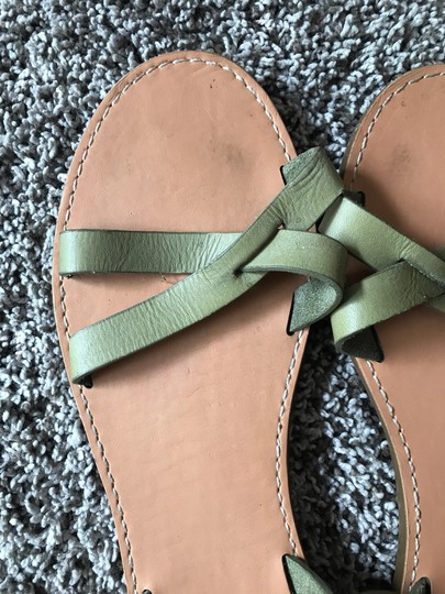 Madewell Olive Green Sandals Image 2