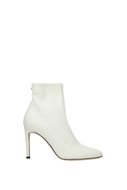 Item - White Ankle Women Boots/Booties Size EU 37.5 (Approx. US 7.5) Regular (M, B)