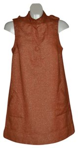 XXOO short dress XXOO Dress RUST with sparkles 60's Style on Tradesy