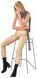 BDG Capri/Cropped Pants Gold