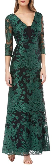 Item - Emerald Green 866251 Long Formal Dress Size 10 (M)