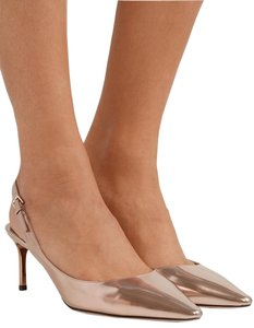 Jimmy Choo Luxury Rose Gold Pumps