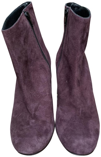 Item - Burgundy Ankle Boots/Booties Size EU 37 (Approx. US 7) Regular (M, B)