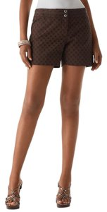 White House | Black Market Dress Shorts brown