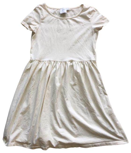 Item - Cream Stylish Maternity Dress Size 4 (S)