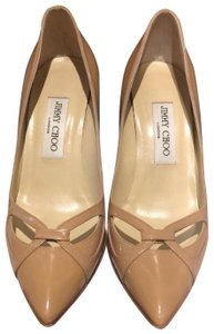 Jimmy Choo Beige nude with a hint of pink Pumps