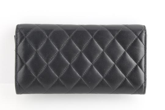 Chanel Chanel CC Quilted Gusset Classic Flap Wallet Image 1