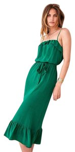 green Maxi Dress by Sézane