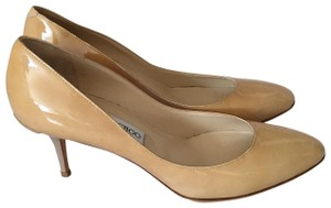 Jimmy Choo 102 Nude Pumps