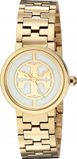 Tory Burch Reva Gold Ion Plated Steel Quartz Ladies Watch TB4025 Image 1