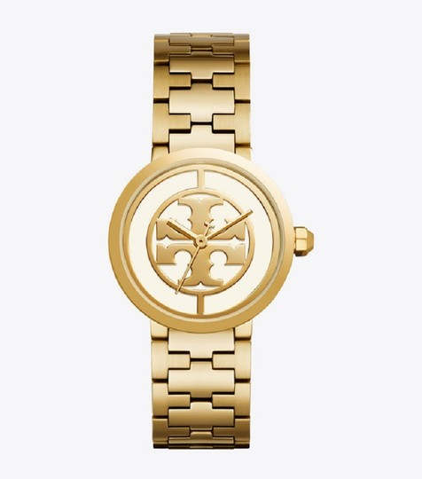 Tory Burch Reva Gold Ion Plated Steel Quartz Ladies Watch TB4025 Image 2