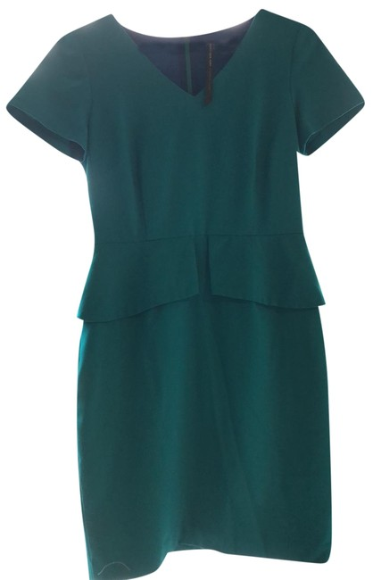Item - Blue By Andrew Mid-length Work/Office Dress Size Petite 6 (S)