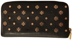 Tory Burch Tory Burch Studded Leather Wallet