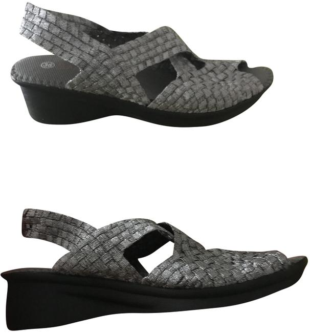 Item - Silver Sandals Size EU 36 (Approx. US 6) Regular (M, B)