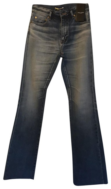 Preload https://img-static.tradesy.com/item/25802203/saint-laurent-medium-wash-boot-cut-jeans-size-0-xs-25-0-1-650-650.jpg