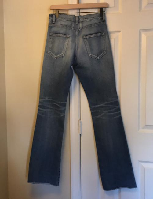 Saint Laurent Boot Cut Jeans-Medium Wash Image 2