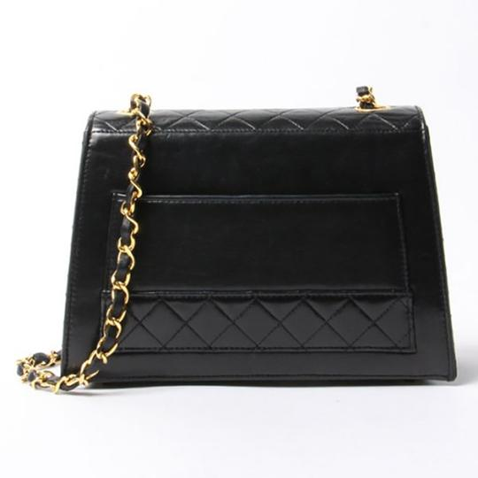 Chanel Vintage Tote Shoulder Lambskin Cross Body Bag Image 1